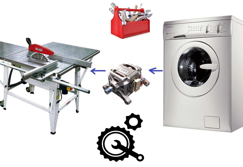 Циркулярка из двигателя от стиральной машины