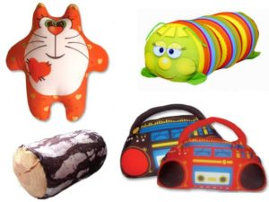 подушки и игрушки антистресс