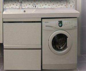 тумба под стиральную машинку