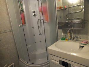 Ванная в хрущевке со стиральной машиной