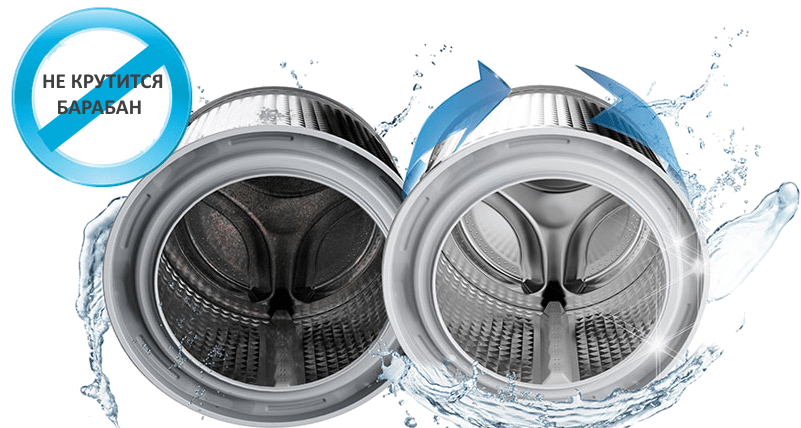 Не крутит барабан в стиральной машине Bosch