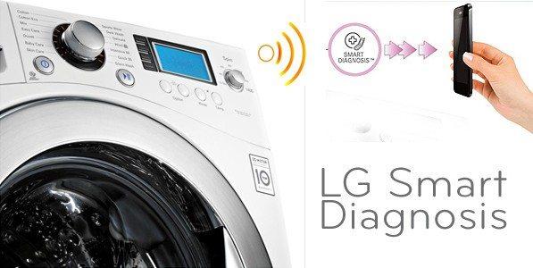 Smart diagnosis в стиральных машинах LG
