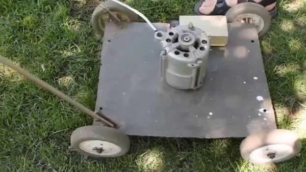 готовая газонокосилка