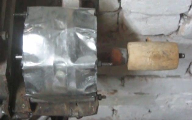 двигатель с втулкой