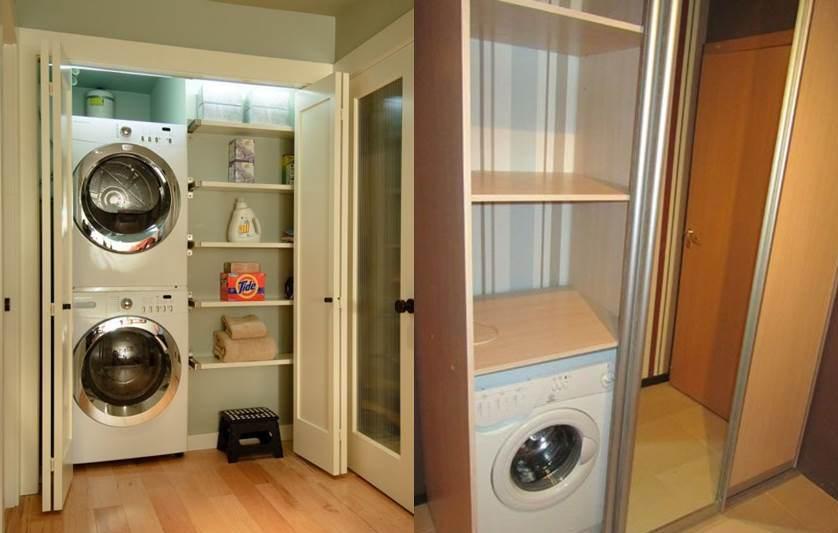 стиральная машинка в коридоре 2