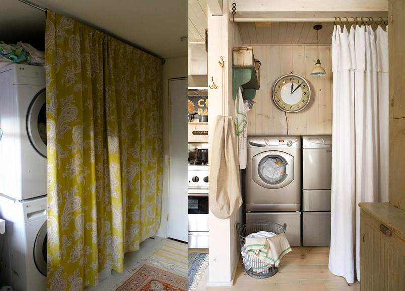 стиральная машинка в коридоре 4