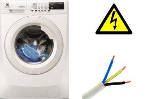 Сечение кабеля для стиральной машины