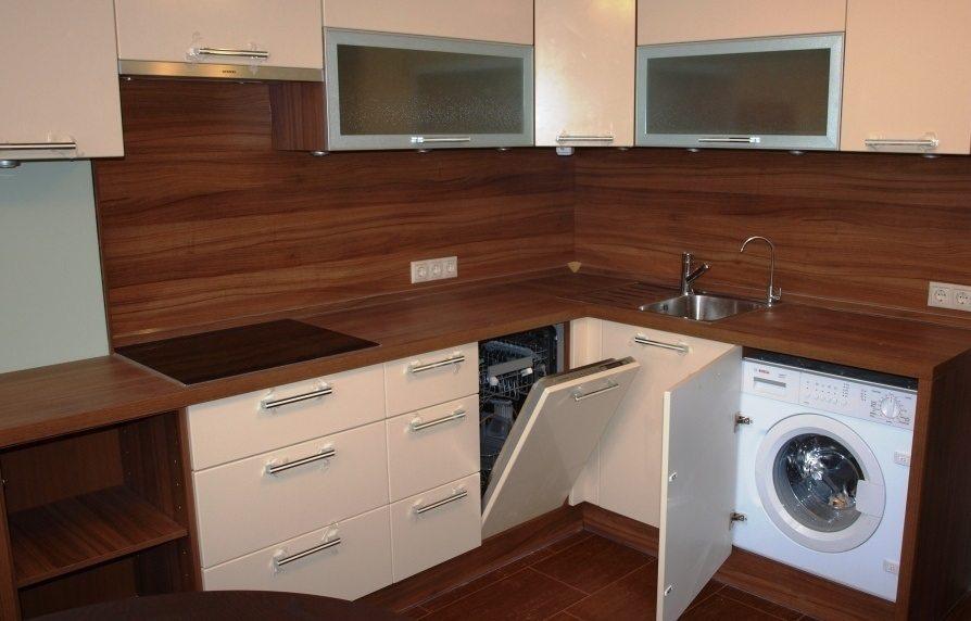 установка стиральной и посудомоечной машины