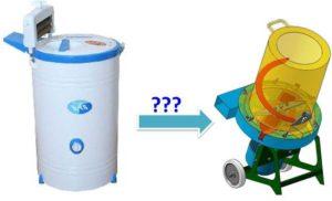 Как сделать траворезку своими руками из стиральной машины