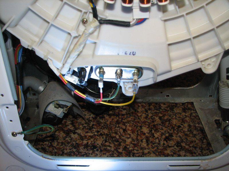 нагреватель в машинке lg