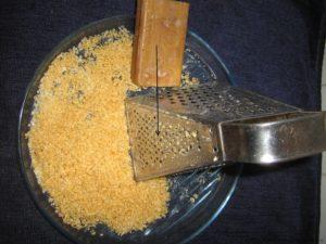 измельчение хозяйственного мыла