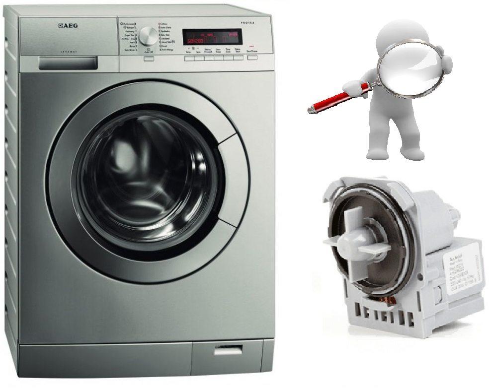 Как проверить сливной насос на стиральной машине