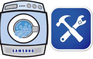 Стиральная машина Samsung не отжимает и не сливает воду