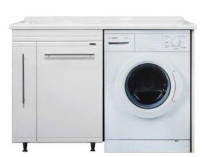 тумба с раковиной для стиральной машины