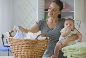 стирать вещи новорожденных
