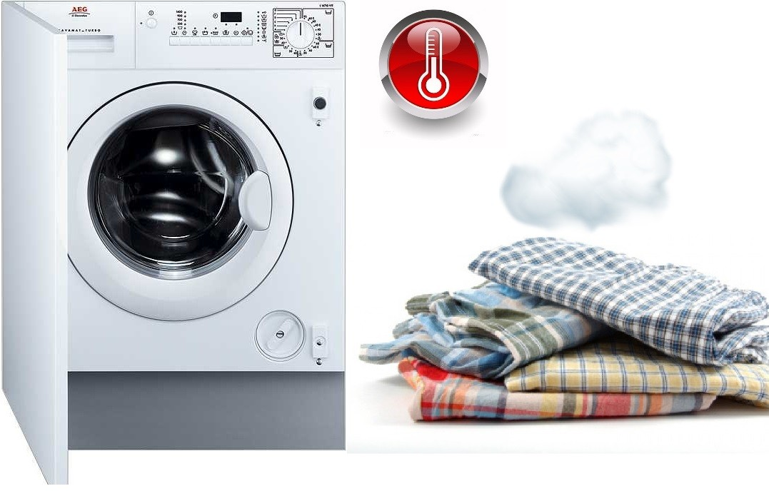 Встроенная стиральная машинка с сушкой