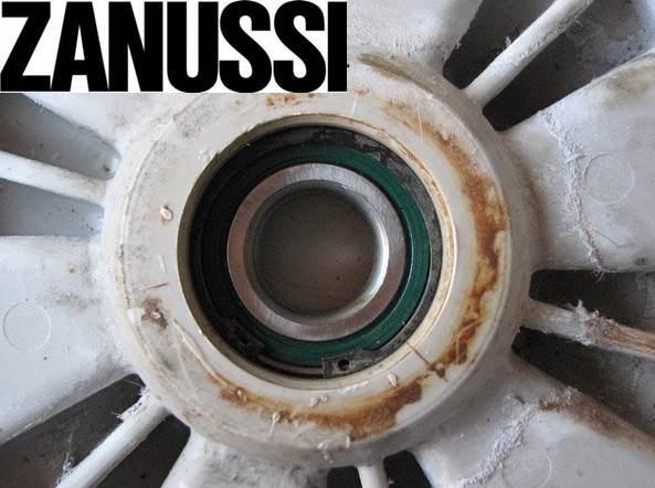 Замена подшипника в стиральной машине Zanussi