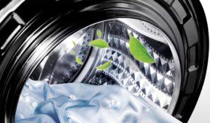 Функция «очистка барабана» стиральной машины LG