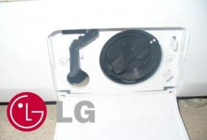 чистка фильтра в машинке LG