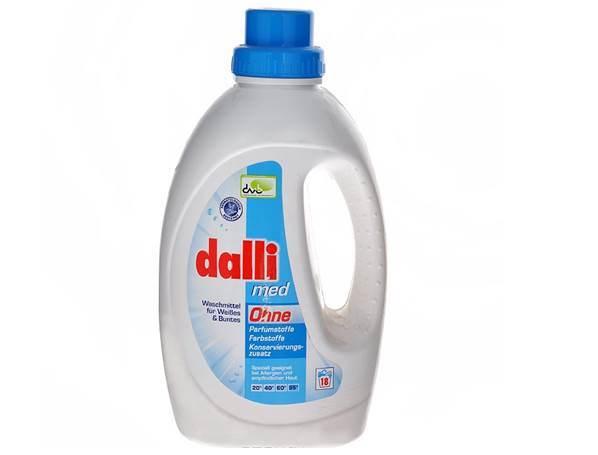 гель для стирки dalli-med