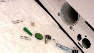 инородные предметы попадают в стиральную машину