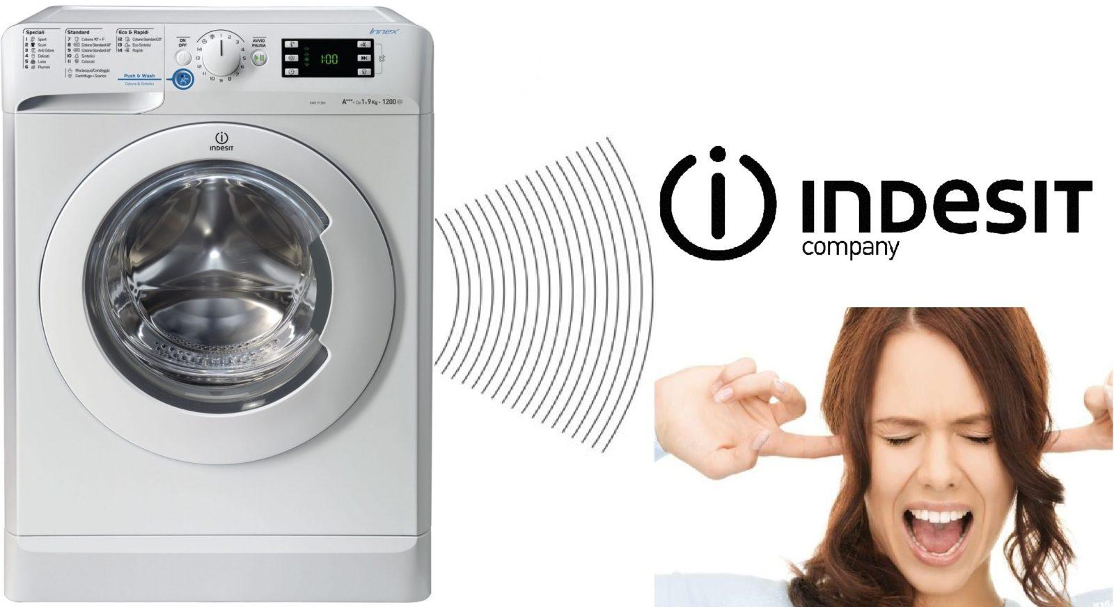 Стиральная машина Indesit гремит при отжиме