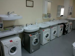 комплект стиральная машина и раковина