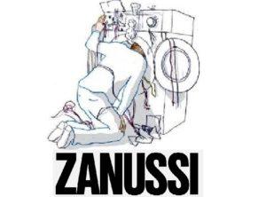 не отжимает стиралка Занусси