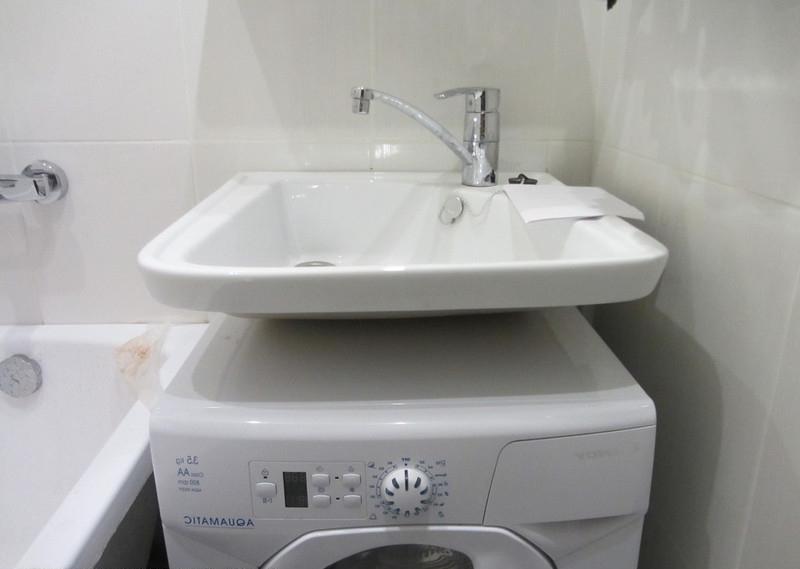 Отзывы о раковине над стиральной машиной