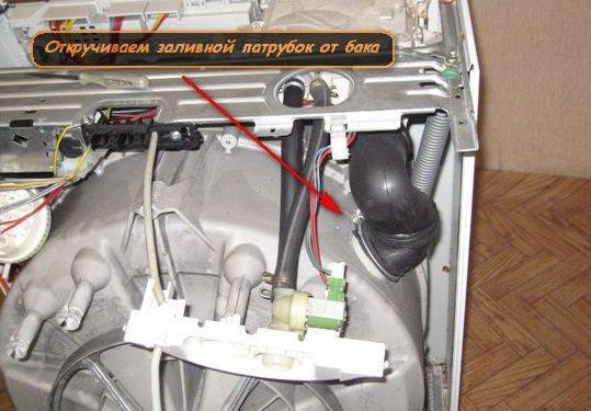 разбор стиральной машины