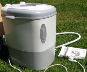 Обзор мини стиральных машин с отжимом для дачи
