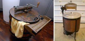 первые ручные стиралки