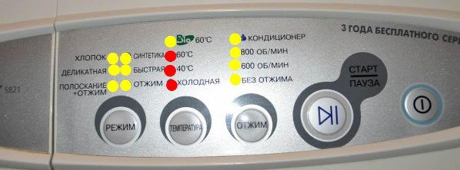 индикация ошибки H2
