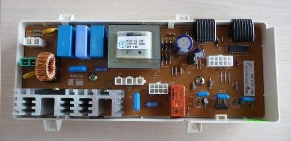 может сломаться модуль управления стиральной машины Самсунг