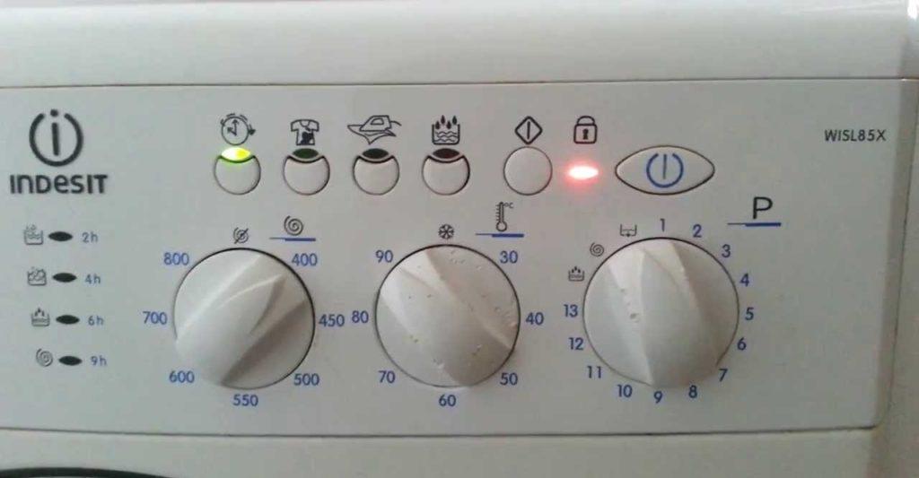 ошибка F08 на стиралке Индезит