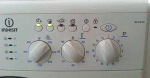 ошибка f12 на стиралке Индезит без дисплея