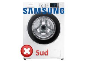 Ошибка SUD в стиральной машине Самсунг