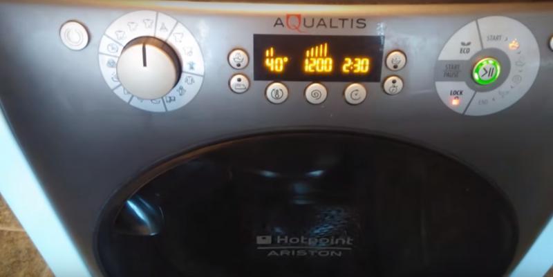 панель стиральной машины Аристон Аквалтис