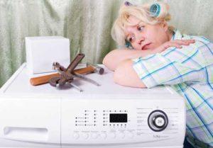 Стиральная машина зависает на отжиме