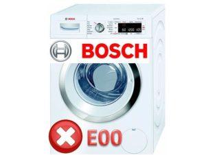 Ошибка Е00 у Бош