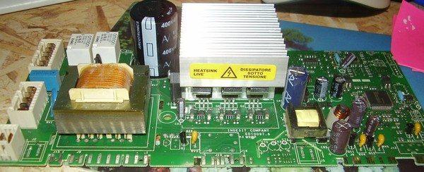 модуль управления стиралки Аристон