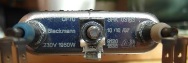 нагревательный элемент на Candy CTD8766