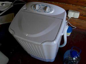 Отзывы о стиральных машинах для дачи