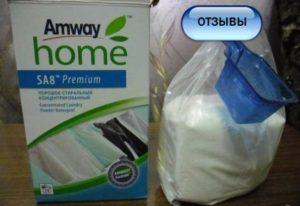 Отзывы о стиральном порошке Amway