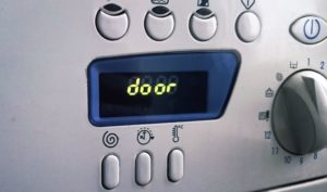ошибка door на стиральной машине