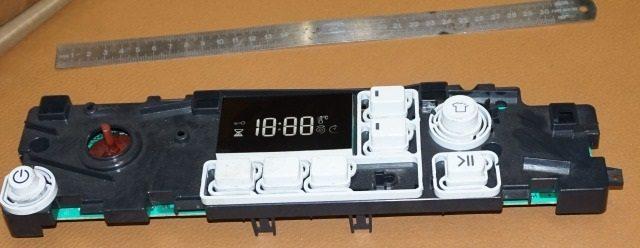панель управления стиралки Аристон