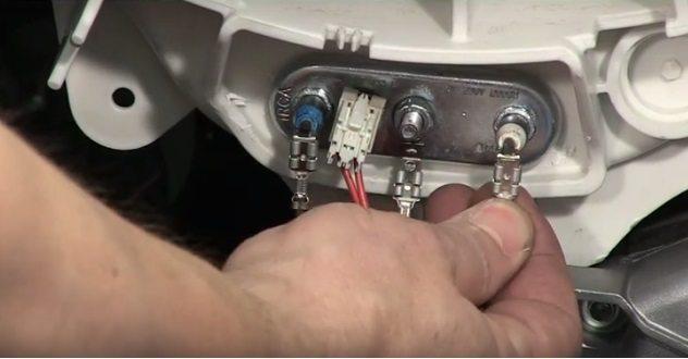 проверяем тэн и термодатчик на Горенье