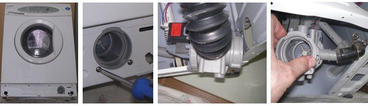 ремонт помпы на стиралке Горенье