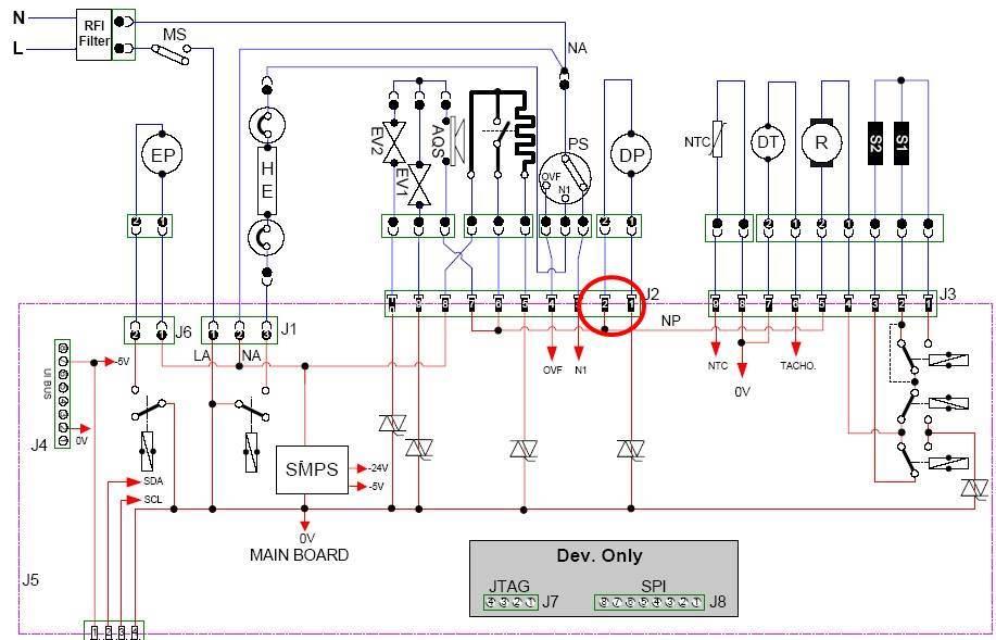 схема модуля СМ Атлант