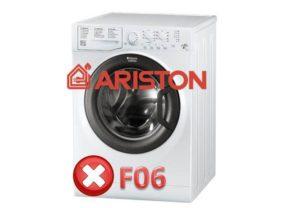 Ошибка F06 в стиральной машине Ariston